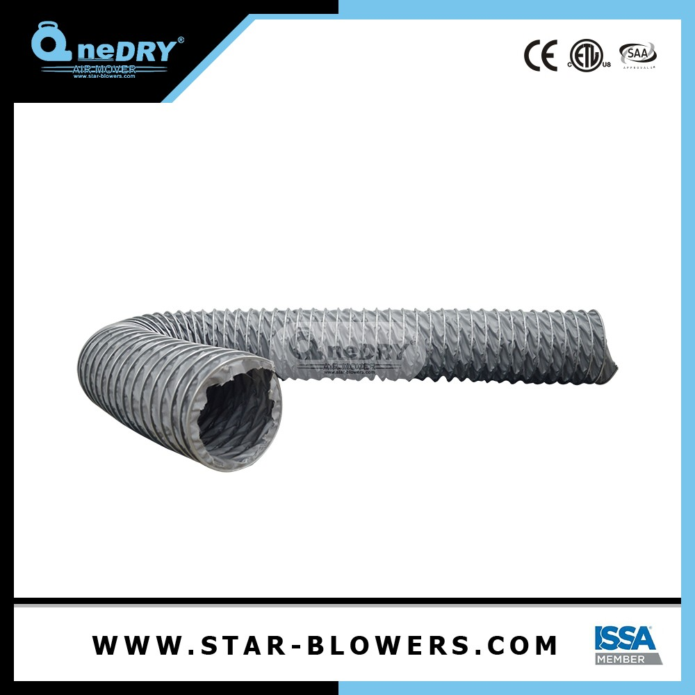 Collapsible Flexible Air Duct Canvas Cloth For Ducting