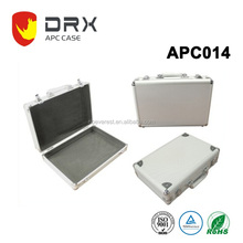 Aluminum Jewelry Display carrying case with foam and round corners