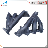 OEM foundry cast iron flexible exhaust pipe casting
