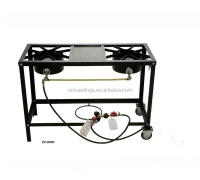 Good quality 2 burner camping outdoor cooker gas stove
