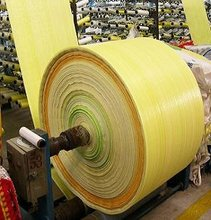 Plastic Material and Flexo Printin Surface Handling pp woven bag roll,pp woven fabric