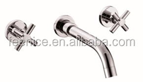 Wall mounted dural handle bath filler tub faucet FNF62011D