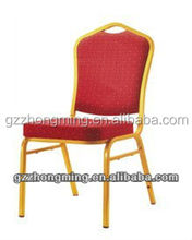 Modern Red Fabric Stacking Banquet Hotel Chair D-001