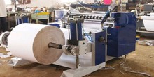 Slitting thermal paper jumbo roll machine for POS ,ATM roll paper slitting machine,