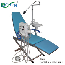 Top quality Folding portable dental chair unit dental portable unit with Turbine