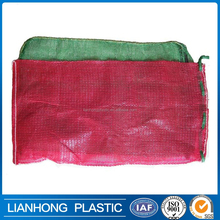 Shandong factory produce duarable quality vegetable mesh bag with UV treatment, Fruit mesh bag for orange, watermelon packing.