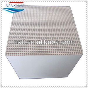 Honeycomb ceramic Monolith for RTO RCO, Heat Exchanger, Regenerator, Substrate, Catalyst Carrier, Structured Media150x150x300mm