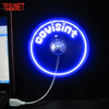 Electrical Appliances Usb Mini Fan Festival Giveaway Light Digital Led Fan