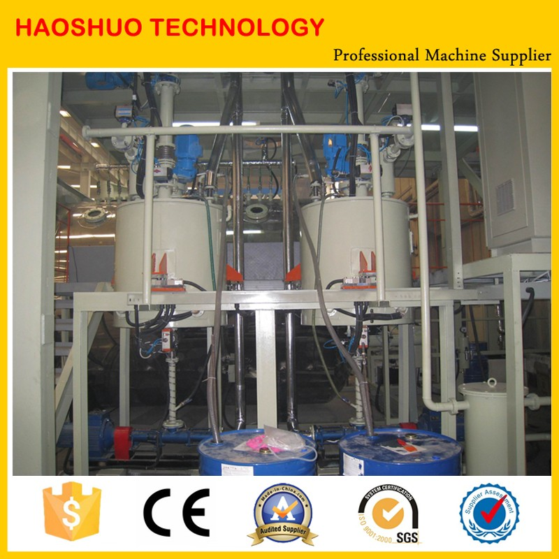Vacuum epoxy resin casting machine for dry type transformers