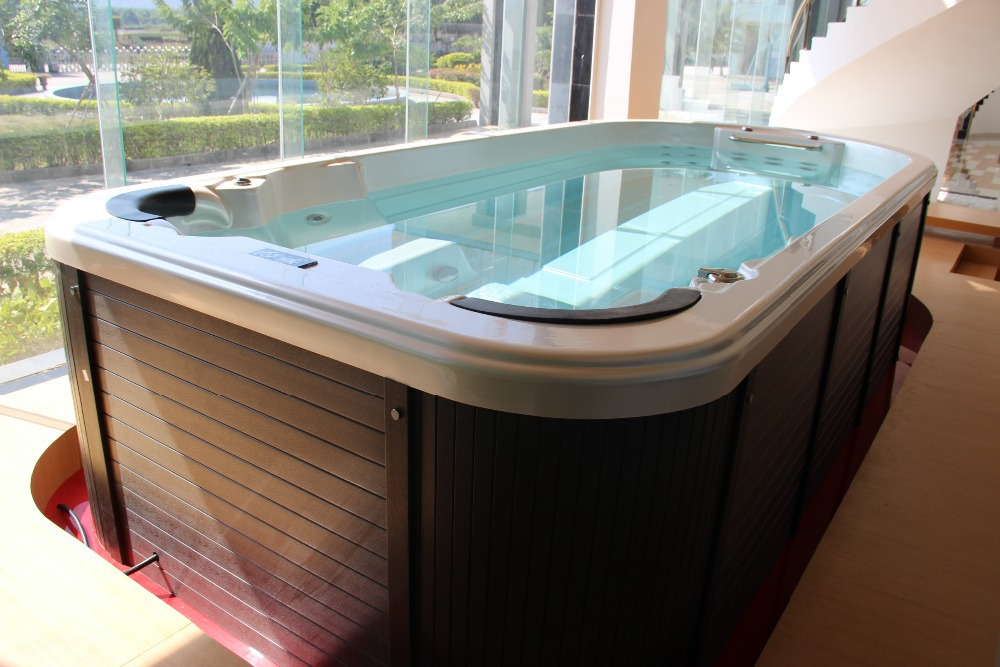 2016 CE approved cheap whirlpool massage freestanding acrylic mini sex indoor mobile adult used swimming pool for sale