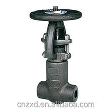 Pressure seal flexible wedge gate valves pneumatic gate valve