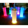 bar Furniture/ CE approved LED bar counter Language Option French /nice small bar furniture /LED mini bar table YM-LBT3030100