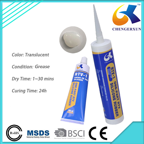 Clear Silicone Waterproof Sealant for Bonding LED