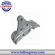 Sand casting steel structure spare parts for lawn mower
