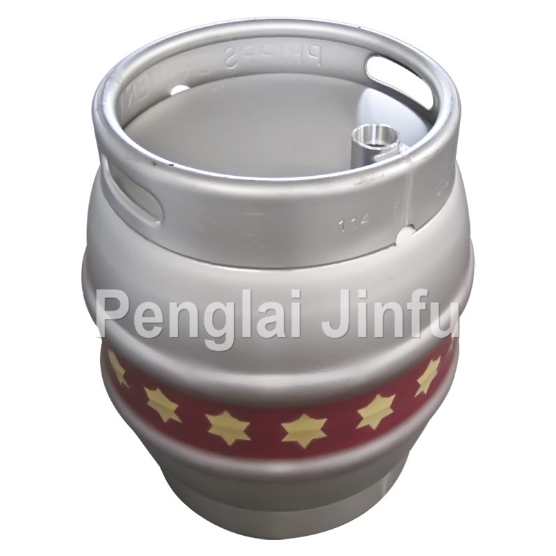 4.5gallon stainless steel beer casks