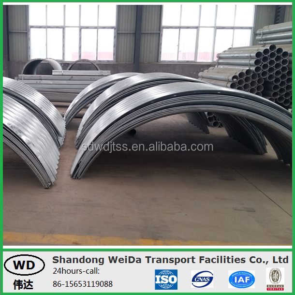 Corrugated Steel Pipe Culvert for Sewers and Drains