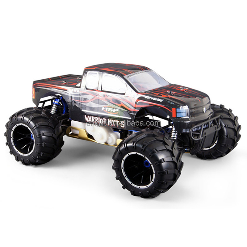 RC gas car HSP Skeleton 94050 Off-Road Gasoline 32cc Engine 1/5 scale 4WD 2.4G RC Monster Truck