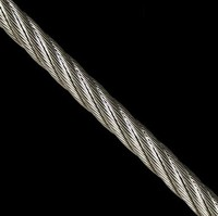 Diameters 2mm 7*7 stainless steel wire rope/China Manufacturer Aisi 304 Stainless Steel Thin Wire Rope