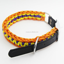 Wholesale High Quality Luxury Cute Dog Custom Metal Chain Leather Collar New Fashion Dog Collars