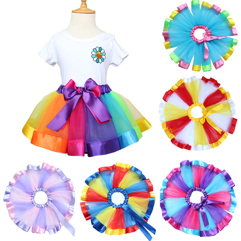 British style girls puffy dresses for kids Little girl princess evening party dress Newborn baby Christening Gown