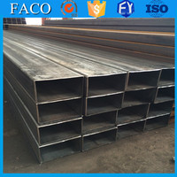 Tianjin square rectangular pipe ! russian standard steel pipe structural rack square steel tube