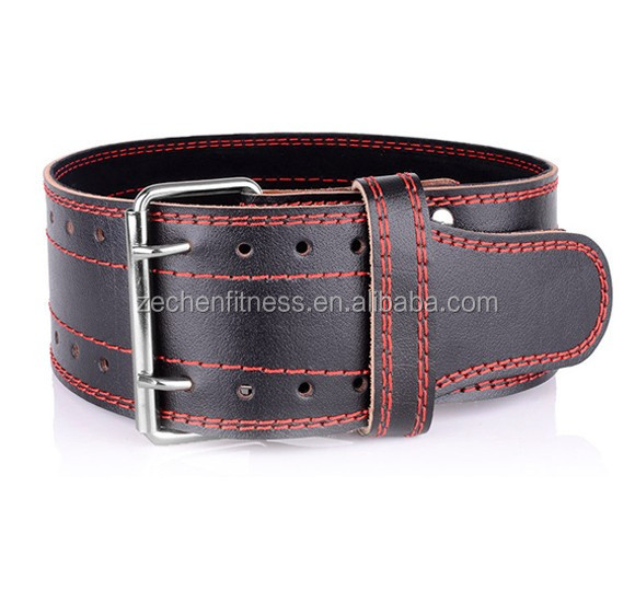 CrossFit Fitness Genuine leather weight lifting belt dip belt for men & women