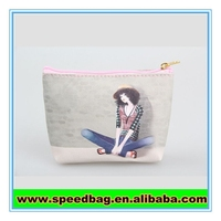 New arrival cute Cartoon girls printing costmetic make up bag for sale