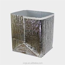 Metallic foil thermal pallet cover, thermal insulated cover, foil thermal boxes