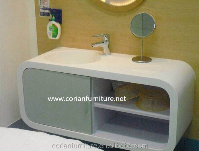 High quality new designed acrylic solid surface hospital side table