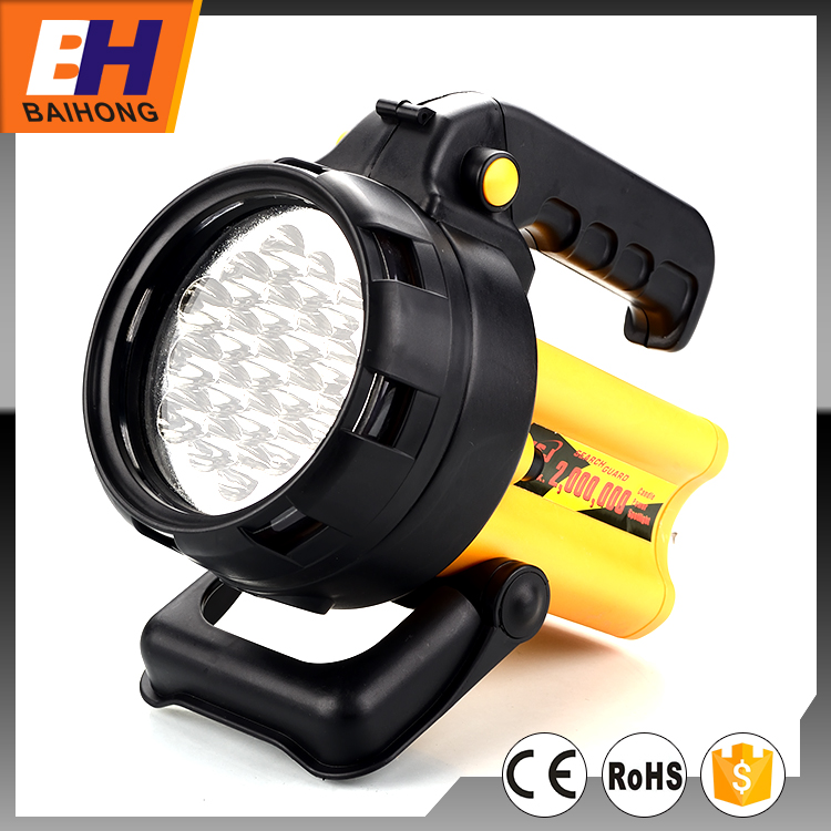 2016 Hot Sell 19 LED Rechargeable Emergency Camping Lantern, A/C and Car Charger, Function of 5 LED bright, 19 LED bright