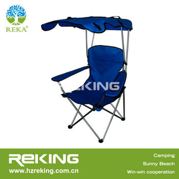 Heavy Duty Camping Chair with Umbrella and Belt