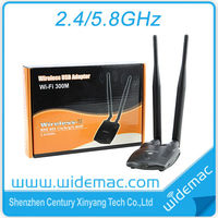 5GHz Dual Band RT5572 USB Wireless Network Card with High Gain 5dBi Antenna(SL-D002)