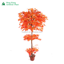 Supply artificial red mini maple bonsai tree for sale