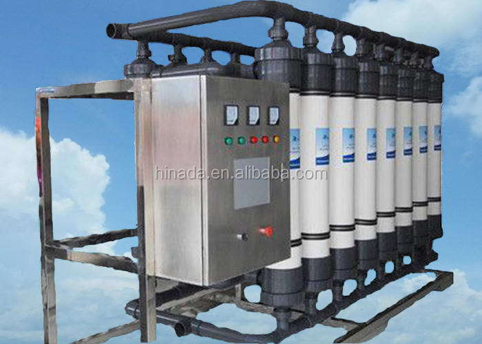 China manufacture competitive ro+ uf+ uv/ozone water treatment plant