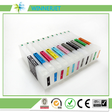 Refillable ink cartridge for epson SC-P10000 printer