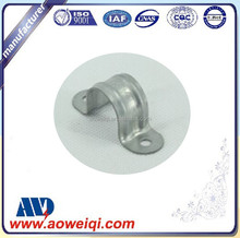 Galvanized Rigid two Holes Straps Clamps