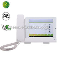 ip telephone compatible with wireless telephone headset