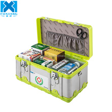 Plastic survival emergency medical vehicle large first aid kit box