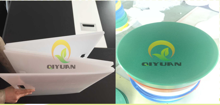 UHMWPE Plastic vegetable design cutting board