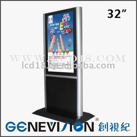 "32""Movie Theaters Touch Screen AD Player"
