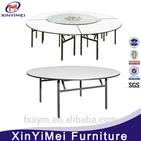 Foshan cheap sale banquet foldable table