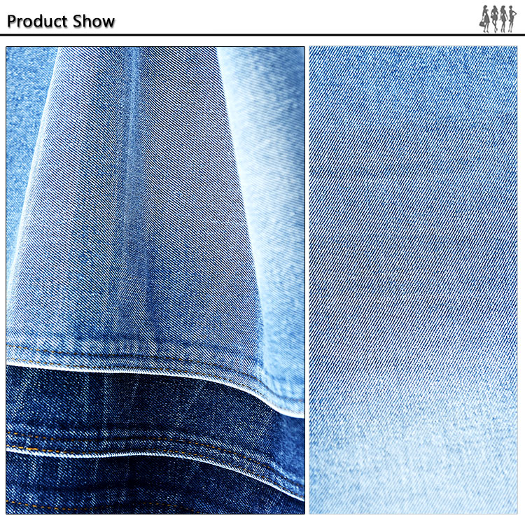 wholesale clothing fabric distributors china light weight cotton denim fabric supplier