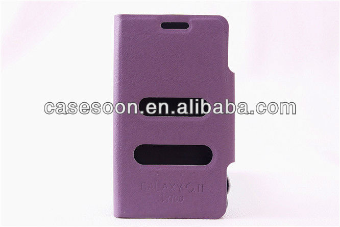 For Samsung Galaxy S2 i9100 Wallet Leather case