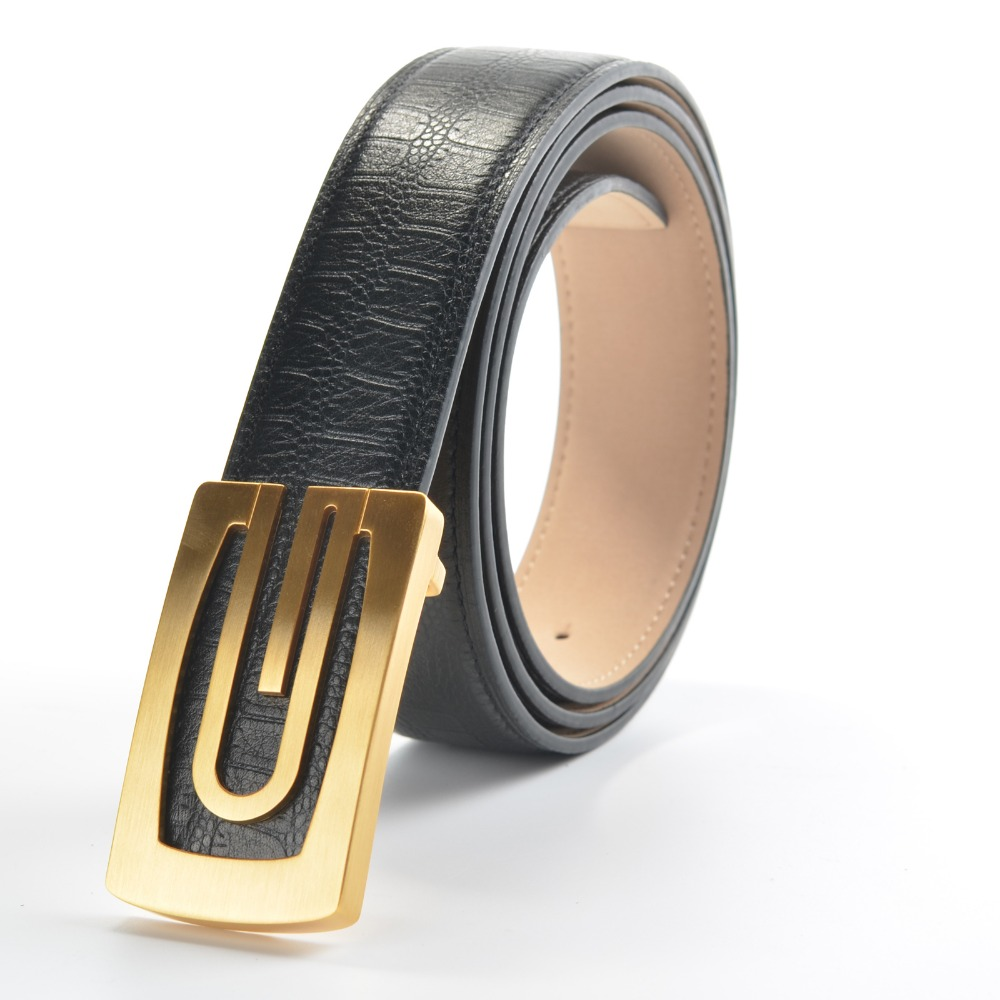 Famous Brand Name H Handmade Mens Belt