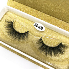 Premium 3D Mink Lashes Private Label Strip False Eyelashes Wholesale 100% Real Mink Fur Handmade eye lashes