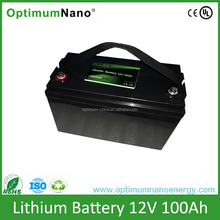 Hot Selling Lithium Iron Phosphate 12V100Ah LiFePo4 Battery