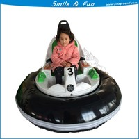 Battery powred bumper car 24V 33AH powered type spin zone bumper for 1-2 kids