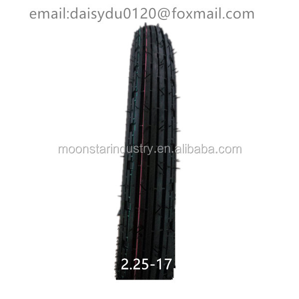 china factory 2.25-17 motorcycle tire 225-17