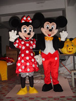 mickey mascot costume , mouse mascot , mickey and minnie mascot costume from China