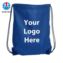 Fugang Hot Selling Cheap Custom Printed 100gsm Non Woven Drawstring Shoe Bags